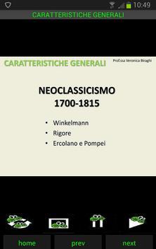Storia dell'arte: Neoclassicismo screenshot 1
