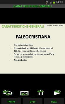 Storia dell'arte: Paleocristiana screenshot 1