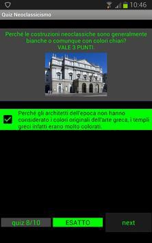 Quiz storia dell'arte: Neoclassicismo screenshot 2