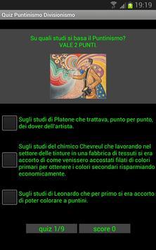Quiz storia dell'arte: Puntinismo e Divisionismo poster