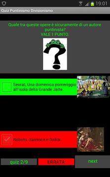 Quiz storia dell'arte: Puntinismo e Divisionismo screenshot 1
