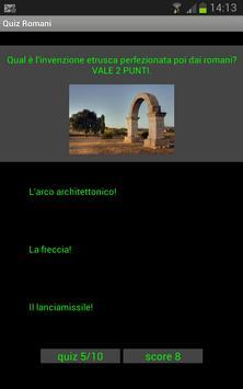 Quiz storia dell'arte: Romani screenshot 1