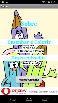 Drawing and Coloring poster