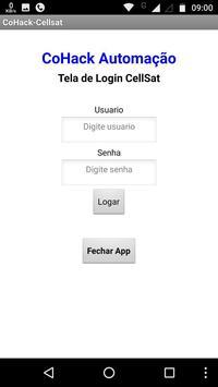 Cohack Automação - CellSat screenshot 1