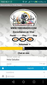 Yireh Radio apk screenshot