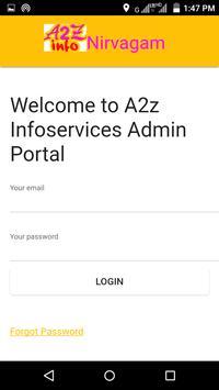 A2Z Info Admin poster