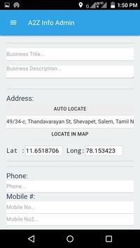 A2Z Info Admin screenshot 1