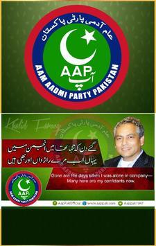 Aam Aadmi Party Pakistan poster