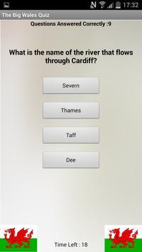 The Big Wales Quiz apk screenshot