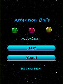 Attention Balls poster