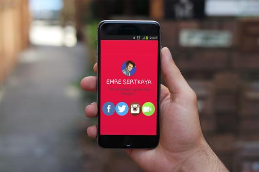 Emre Sertkaya poster