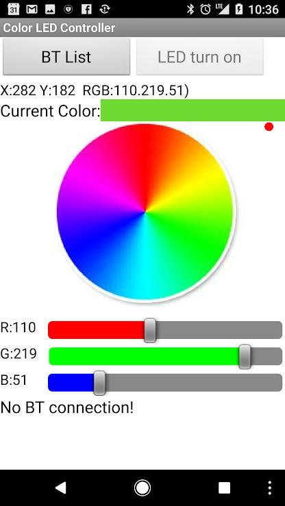 Color LED Controller for Android - APK Download