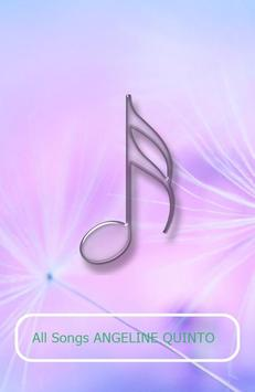All Songs ANGELINE QUINTO apk screenshot