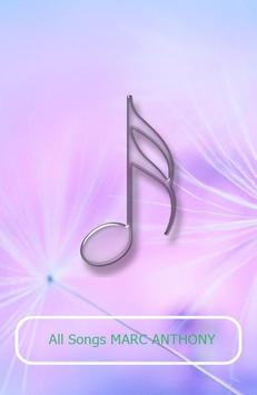 All Songs MARC ANTHONY apk screenshot