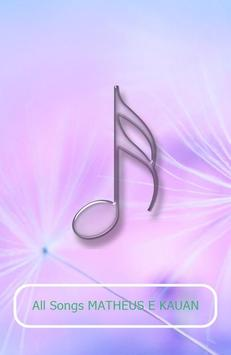 All Songs MATHEUS E KAUAN poster