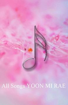 All Songs YOON MI RAE poster