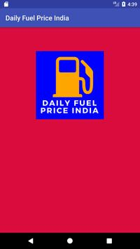 Daily Fuel Price India poster
