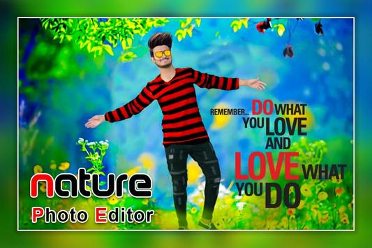 Nature Photo Editor - Nature Photo Frame screenshot 1