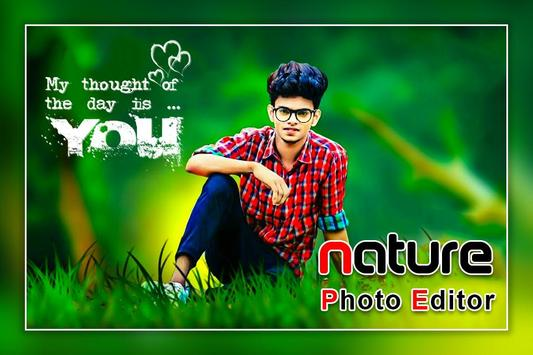Nature Photo Editor - Nature Photo Frame screenshot 2
