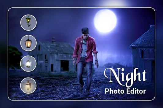 Night Photo Editor poster