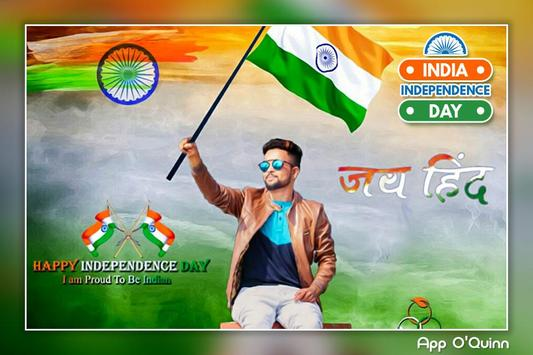 Independence Day Photo Editor 2018 : 15th August poster