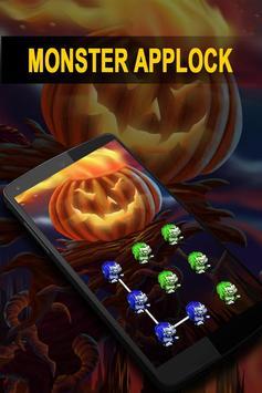 AppLock Theme Monster poster