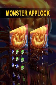 AppLock Theme Monster apk screenshot
