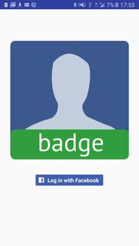 Badge: Temporary Profile Pic poster