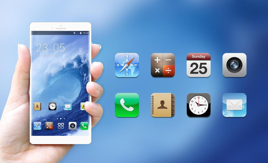Theme for iPhone 4S HD for Android - APK Download