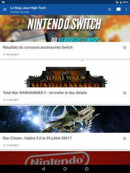 Le Mag Jeux High Tech screenshot 1