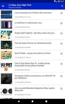 Le Mag Jeux High Tech screenshot 2