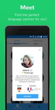 Speaky - Language Exchange apk screenshot