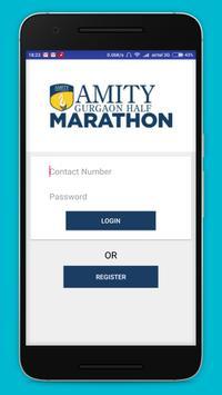 Amity Gurgaon Half Marathon poster