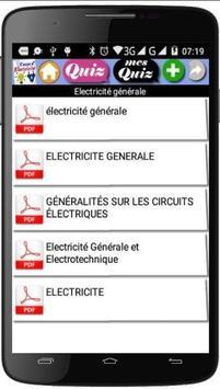 Electricité Générale screenshot 1