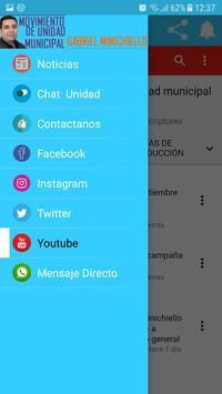 Movimiento Unidad Municipal screenshot 3