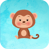 small Monkey jump game icon
