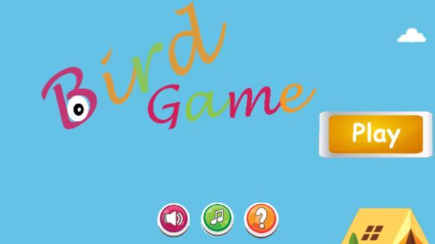 Green Bird Game free poster