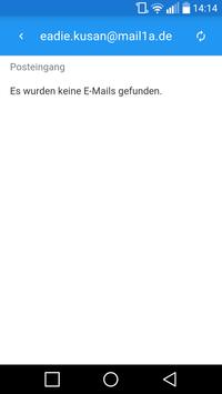 Mail 1A - Wegwerf Mail screenshot 1