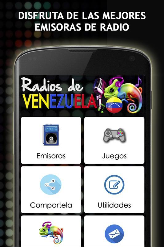 79c930fe77c0a Emisoras de Radio Venezuela for Android - APK Download