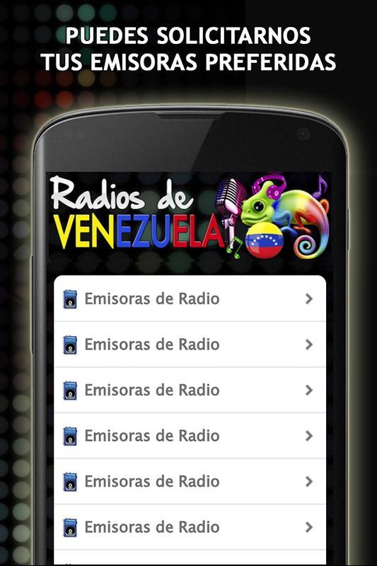 d8661c0b93240 Emisoras de Radio Venezuela Poster Emisoras de Radio Venezuela captura de  pantalla 1 ...