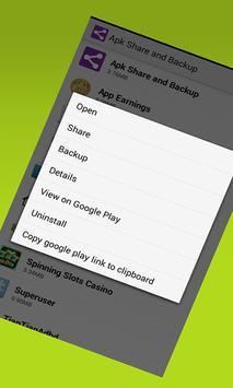 Appsaver App Apk. Save Apps. Extract APK Files. apk screenshot