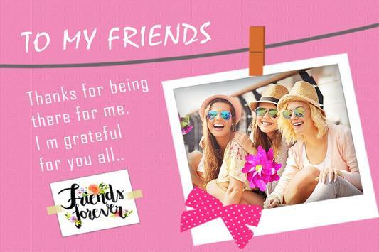 Friendship Day Photo Frames And Wallpaper screenshot 2