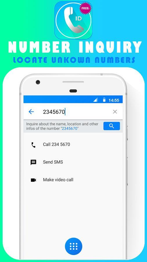 Caller Name ID - Track Phone Location 2018 for Android - APK
