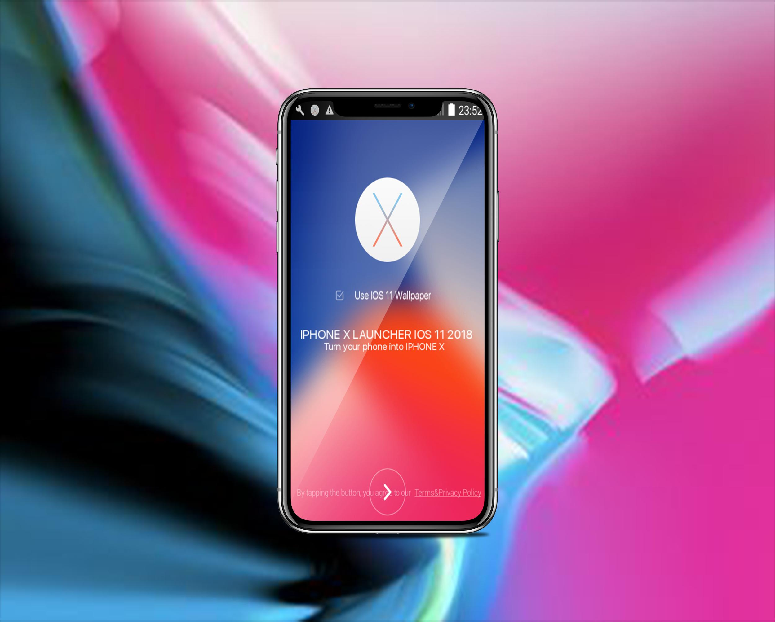 Iphone X Launcher Ios 11 2018 For Android Apk Download