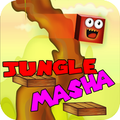 Masha Cube Jungle game icon