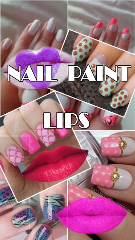 Girls Nail Paint: Lips MakeUp: Beauty Photo Editor for Android - APK ...