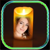 Beautiful Candle Photo Frame icon