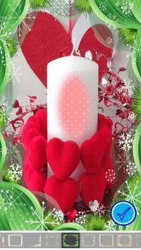 Beautiful Candle Photo Frame screenshot 10
