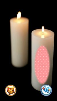 Beautiful Candle Photo Frame screenshot 11