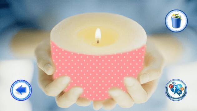 Beautiful Candle Photo Frame screenshot 13